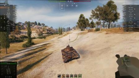 坦克世界 黑市8个车与毛蟹-3A指导实战215B万伤121B10杀