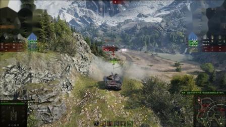 坦克世界 907默默和野队队友形成了史诗翻盘