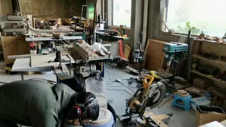 木工集尘吸1200瓦改72瓦效果对比