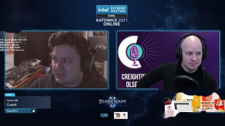 StarCraft II 2月23日IEM2021世界总决赛24强B组(3)Time(T) vs Major(T) 2021