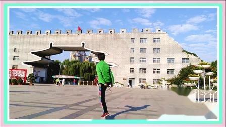 洛阳青藏高原2020.9隋唐遗址公园抖空竹