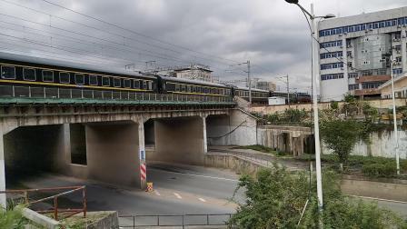 20200717 110007 阳安线客车K5451次列车进汉中站