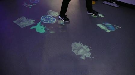 多媒体地面互动投影,为空间增添更多魅力!