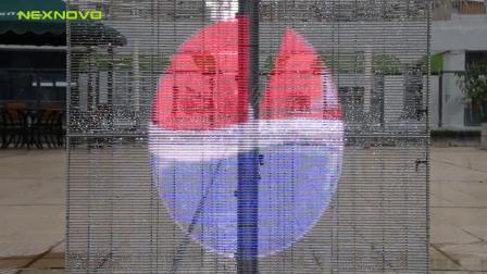 灯条屏防水测试-晶泓科技