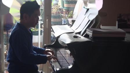 沈文裕演奏巴赫《赋格的艺术》对位曲6 庄严版