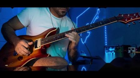 Eric Clapton - Wonderful Tonight电吉他翻弹 By The Singing Guitar