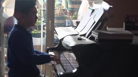 沈文裕演奏巴赫《赋格的艺术》对位曲6 从容版