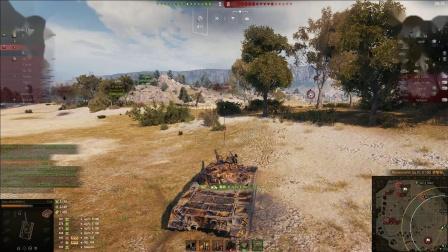 坦克世界 黑市121B怎么样实战10杀讲解