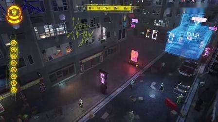 赛博朋克风城市建造模拟游戏《CyberTown》预告片