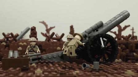 用乐高还原第一次世界大战索姆河战役,战争是残酷的,珍爱和平