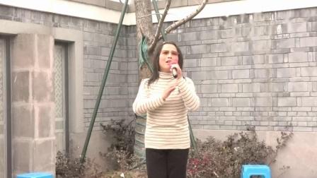 越剧[梁祝 记得草桥两结拜]选段 林美在宁波西塘河公园演唱