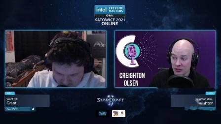 StarCraft II 2月25日IEM2021世界总决赛24强D组(5)Parting(P) vs Cure(T) 2021