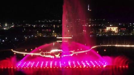 《敬亭山中央生态绿地公园音乐喷泉》