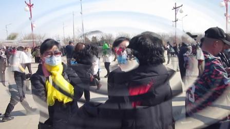 北镇庙会《北镇舞友逛庙会》2制作-东明2021正月15