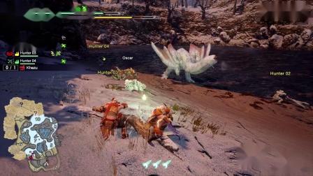 《怪物猎人:崛起》奇怪龙狩猎演示