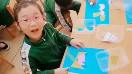 大班数学活动《图形大变身》(一等奖)-幼教优质课(2020年)