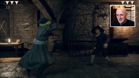 【游侠网】剑术专家评价《地狱剑术》