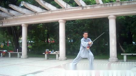 32式太极剑练习2020.9.19