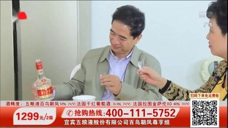 上海都市频道宜宾五粮液股份有限公司百鸟朝凤尊享组广告
