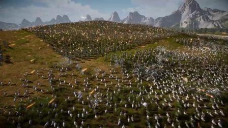 《史诗战争模拟器2》整活演示 1.5万美军大战200万只鸭子