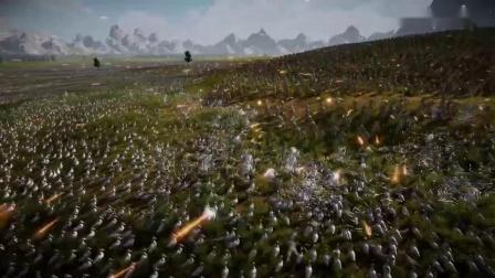 《史诗战争模拟器2》1.5万美军打200万鸭子演示