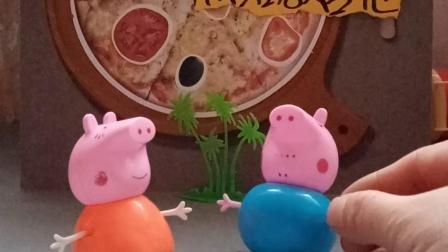 萌娃玩具:猪爸爸年轻的时候会弹吉他