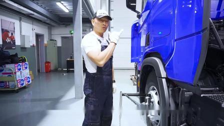 斯堪尼亚培训 06轮胎拆卸