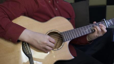 岸部真明《流行的云》指弹改编 指尖下的旋律倾泻 乌托邦吉他银杏