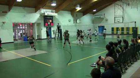排球对抗赛!女孩子在排球场上也很飒!