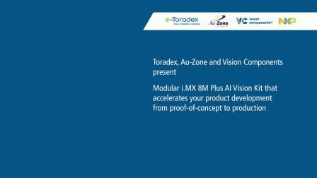 AI Vision Kit - Toradex | Au-Zone | Vision Components