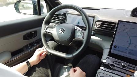 高速路体验蔚来NOP自动下匝道功能