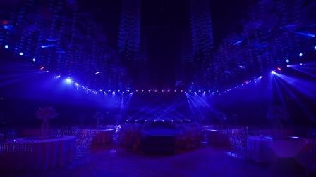 骁龙灯光380w光束灯江苏宴会厅灯光秀舞台灯光染色灯
