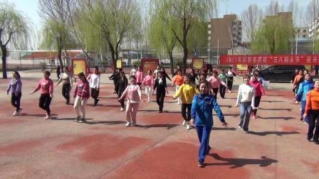 """2021年新密市庆祝""""三八妇女节""""举办健身舞蹈《最亲的人》培训"""