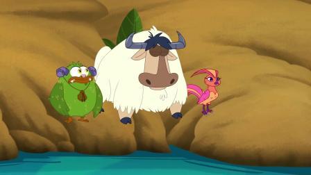 鹿精灵:奇怪事情发生,迪尔喝不到湖水