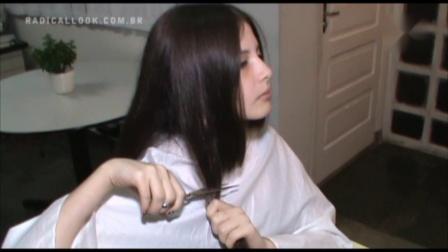 国外美女剃BOB