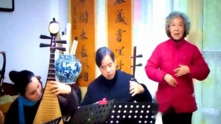 黄梅戏《难伴先生到百年》高胡大师 李万昌 演唱 姚志英.mpg