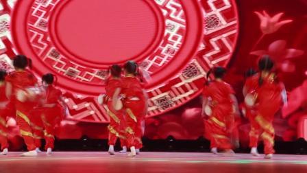 2020银河之星全国少儿舞蹈展演 单位:大保当舞艺舞妞妞艺术培训中心 节目:《陕北腰鼓》