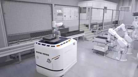 ABB协作机器人GoFa™配合AGV最大化提高生产柔性