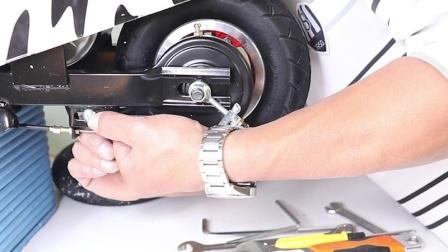 小海豚轮胎后轮安装视频