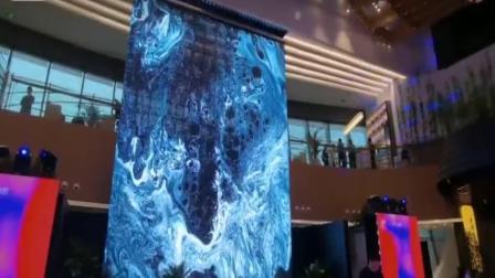 大型商场LED透明屏传媒 共建美好智慧生活