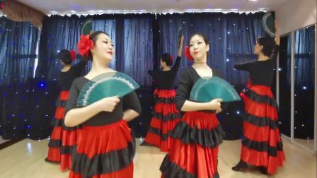 融合Flamenco东方舞  丝媚东方舞 烟台肚皮舞