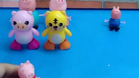 小猪佩奇一家来买玩具,小猪要按照生肖来买玩具,都很好玩呢