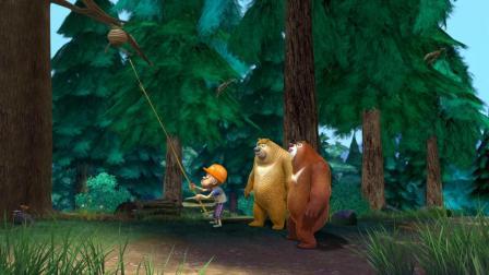 熊出没:野外生存,还是熊大最有经验,准备传授给光头强几招