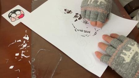 DOTA2-用光影纸雕来画一幅幻影刺客
