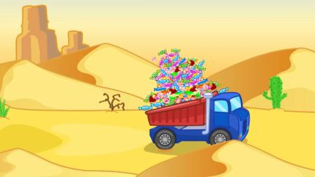 小狮子一家:小狮子流浪到了沙漠,好可怜呀,身上都是绷带