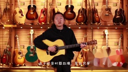 Martin Custom Shop 00014F危地马拉玫瑰木木吉他测评【世音琴行】