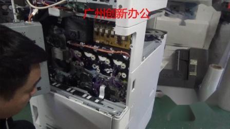 理光复印机03系列下粉泵教程