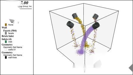 Spray Simulation using PFC Inlets