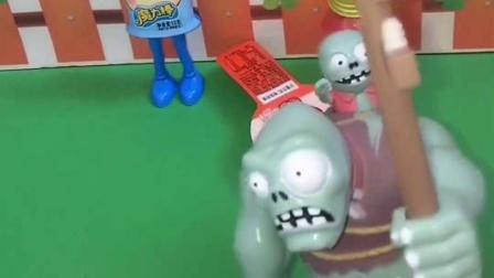 猪妈妈遇到困难了,猪爸爸和乔治去帮忙,僵尸来小猪商店拿走东西