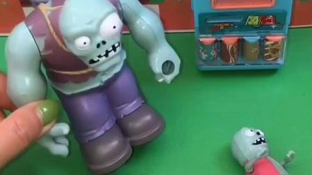 巨人僵尸带着小淘气去小猪家,不小心造成了误会,互相赔礼道歉